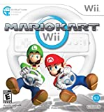 Cheap Mario Kart Wii with Wii Wheel