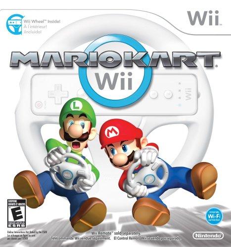 - Mario Kart Wii with Wii Wheel