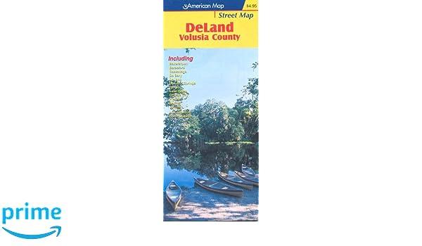 Deland Florida American Map Company 9780875306452 Amazon Com Books