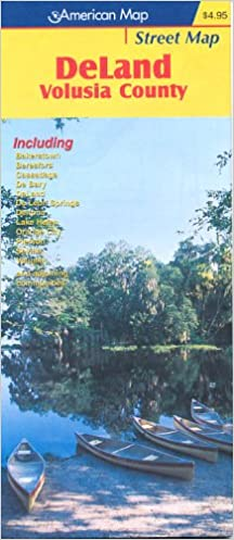 Map Of Deland Florida.Deland Florida American Map Company 9780875306452 Amazon Com Books