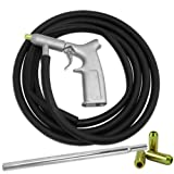 8 PC AIR SANDBLASTER GUN KIT Gun Tubes Pick Up Sand Blaster 1/4'' Air Nozzles