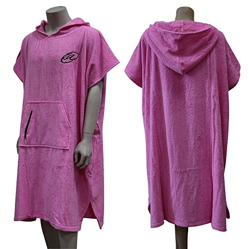 Lightahead Cotton Hooded Poncho Changing