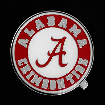 amazon com aminco ncaa alabama crimson tide logo pin sports rh amazon com Alabama Crimson Tide Logo Alabama Elephant Logo