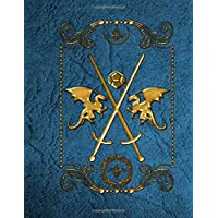 RPG Player Notebook: Journal mixed paper college ruled journal, graph paper, hex, dice