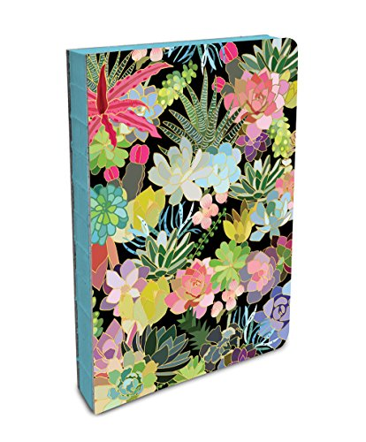 (Studio Oh! Hardcover Compact Coptic-Bound Journal Available in 5 Designs, Succulent Paradise)