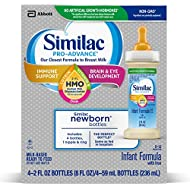 Similac Pro-Advance Infant Formula Ready to Feed Bottles, 2 Fl Ounce, (48 Count), 48 Count