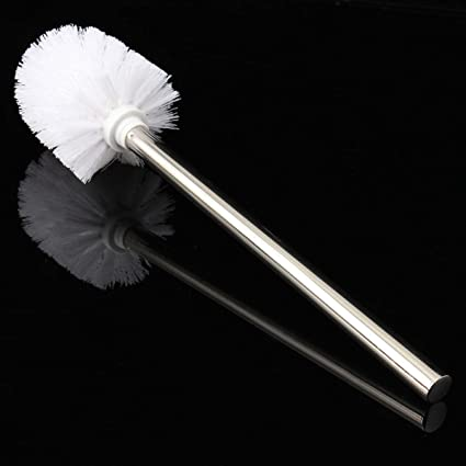 Replacement Stainless Steel WC Bathroom Cleaning Toilet Brush Head HoldersV!N