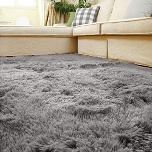 ACTCUT Super Soft Indoor Modern Shag Area Silky Smooth Fur Rugs Fluffy Rugs Anti-Skid Shaggy Area Rug Dining Room Home Bedroom Carpet Floor Mat 4