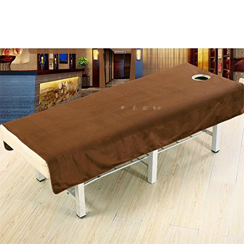 LWZY Linens Massage table sheet,waterproof sheets,spa linens,set of 2, cosmetic sheets/special sheets for beauty sheets-E 190x120cm(75x47inch) by LWZY Linens