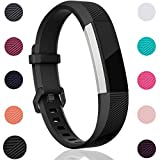 For Fitbit Alta HR and Alta Bands, Maledan Replacement Accessories Wristbands for Fitbit Alta and Alta HR, Black Small