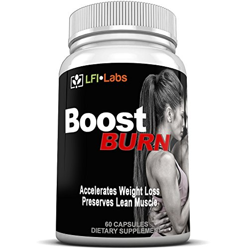 LFI Boost Burn - 30-Day Extreme Fat Burning Cycle -2 Bottles of Powerful Fat Burning Synergy Stack of 29 Clinically Studied Thermogenic Weight Loss Ingredients. Stimulant Free - No Jitters!