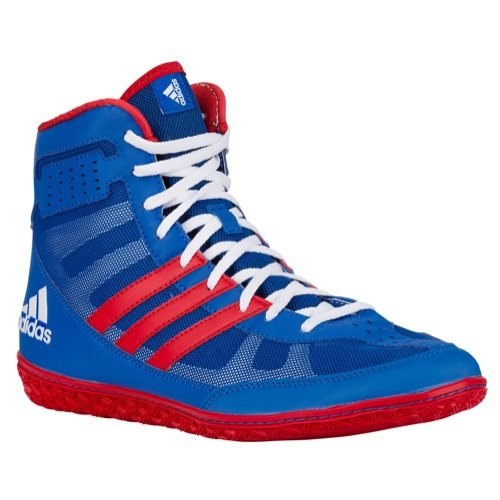 adidas Mat Wizard 3 David Taylor Edition Wrestling Shoes - Royal/Red/White - 8.5 by adidas