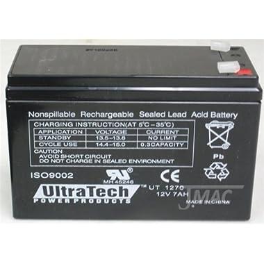 12V 7AH Sealed Lead Acid (SLA) Battery for Piranha MAX 160 Fish Finder
