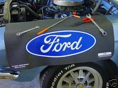 - Ford Blue Oval Fender Cover Gripper