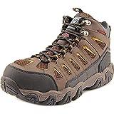 Skechers Men's Work Blais Bixford Steel Toe Boot,Dark Brown,US 12 M