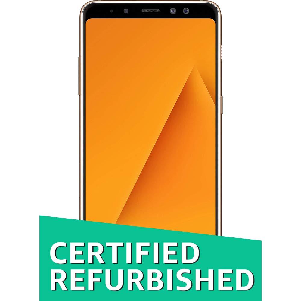 (Renewed) Samsung Galaxy A8+ (Gold, 6GB RAM + 64GB Memory)