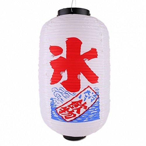 lámpara japonesa de papel