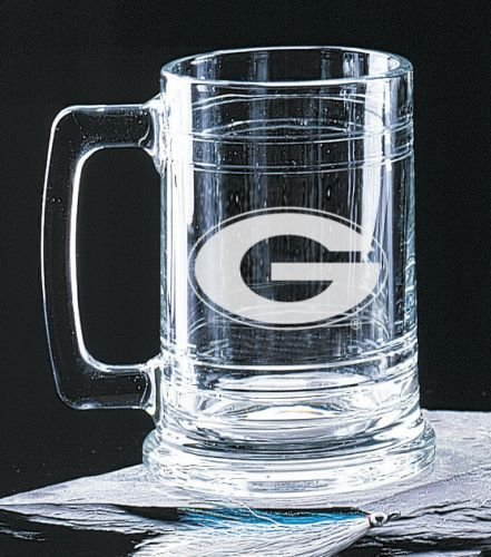 Georgia Bulldogs 15 Oz Deep Etched Colonial Beer Tankard
