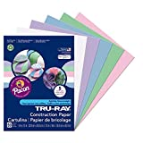 Pacon Tru-Ray Assorted Pastel Colors Pastel