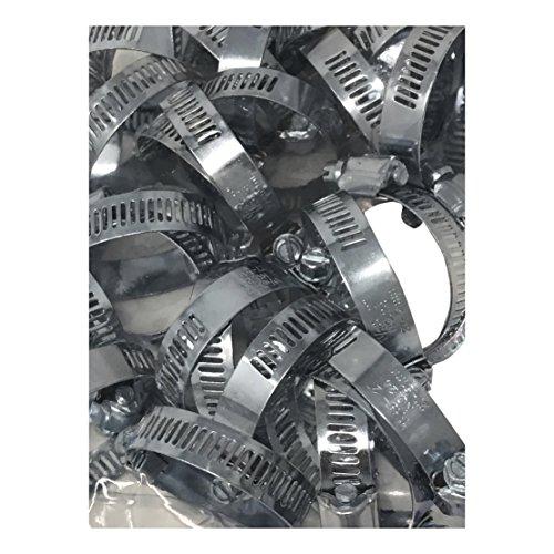 50 PCS Steel HOSE CLAMP Set, 1