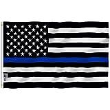 Anley Thin Blue Line US Flag