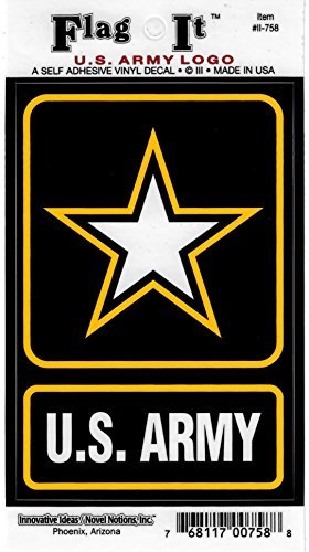 Us Army Logo Decal For Auto  Truck Or Boat