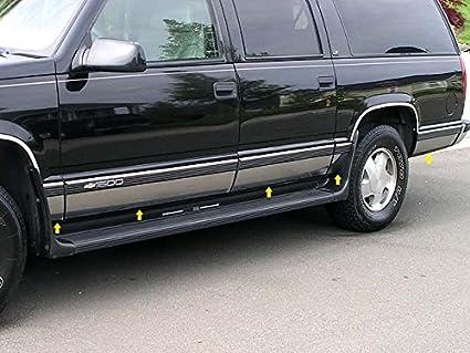 amazon com upgrade your auto 10pc luxury fx chrome door molding (w 1999 Chevy Suburban Roof Rack image unavailable