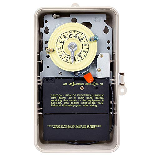 Intermatic T104P201 DPST Time Switch in Plastic ()
