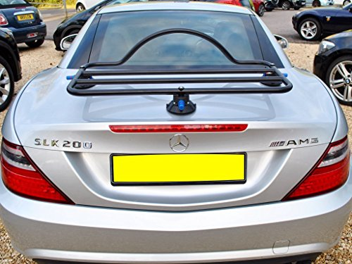 Mercedes SLK R172 (11-16) Trunk Rack Unique Design, No Clamps No Straps No Brackets No Paint Damage