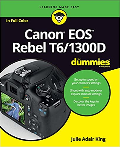 Amazon.com: Canon EOS Rebel T6/1300D For Dummies (For Dummies ...