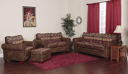 American Furniture Classics 4 Piece Sierra Lodge Sofa