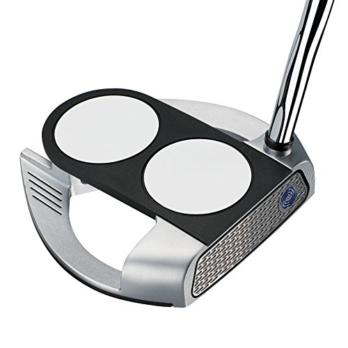 Odyssey Works Versa 2-Ball Fang Tank Putter with SuperStroke Grip, Right Hand, 38-Inch