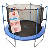 Cheap Upper Bounce 12-Feet Trampoline Enclosure Safety Net, 12-Feet