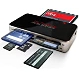ABC Products® All in One USB Multi Digital Camera / Cell Phone / Mobile Picture Memory Card Reader Writer USB 2.0 Windows 98SE, ME, 2000, XP, Vista, 7, 8 and Apple Mac OS V9.2 & above, PLUG and PLAY Digital Photo Frame Transfer, Reads all Cards Except Smart Media, USB Cable Included