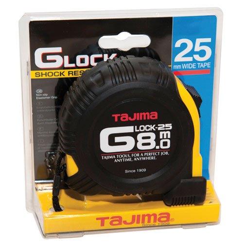 Tajima G5P80MY - Cinta mé trica resistente a impactos (8 m x 25 mm)