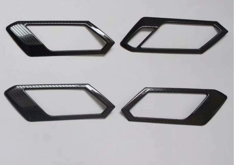 Maniglie in acciaio INOX effetto carbonio FFZ Parts per T-Roc TDI TSI Rline