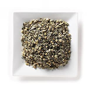 Mahamosa Chamomile Medley Organic 2 oz (with lemon myrtle, lemongrass, spearmint), Herbal Flower Tea Blend Loose Leaf