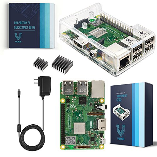 V-Kits Raspberry Pi 3 Model B+ (Plus) Basic Starter Kit [LATEST MODEL 2018]