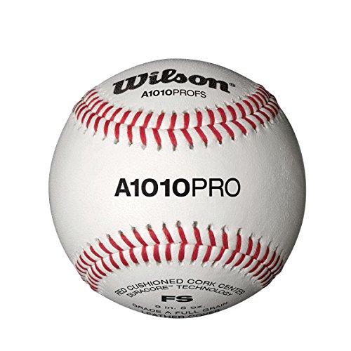 Wilson A1010 Pro Flat Seem Baseball (1 Dozen) by Wilson