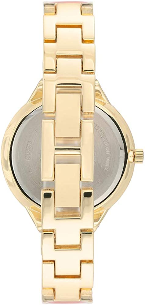 Anne Klein Dress Watch (Model: AK/3318BKGB) Pink/Gold