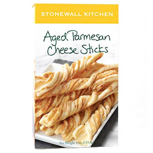 (Stonewall Kitchen Aged Parmesan Cheese Sticks, 4 Ounce Box)