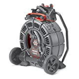 RIDGID 42348 SeeSnake MAX rM200A with D2A Drum, Self-Leveling Video Inspection Camera and Transmitter
