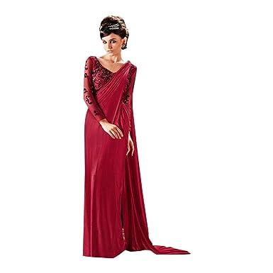 ETHNIC EMPORIUM Vestido étnico de la India Bollywood Vestido Listo ...
