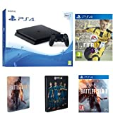 Sony PlayStation 4 500GB + FIFA 17 + Battlefield 1 + Steelbooks (Exclusive to Amazon.co.uk)
