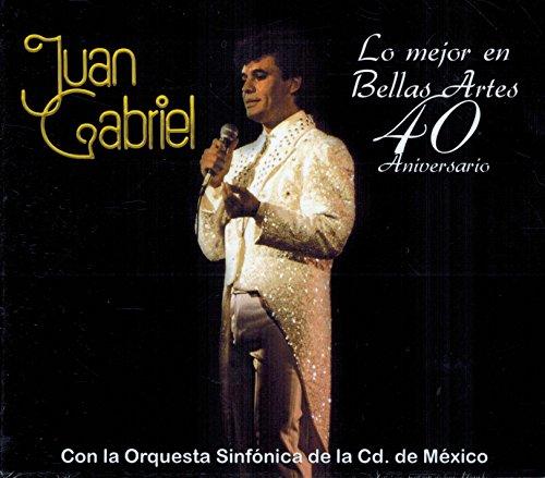 Juan Gabriel (Lo mejor en Bellas Artes 40 Aniversario con la Orquesta Sinfonica de la Cd. de Mexico Sony-873520)