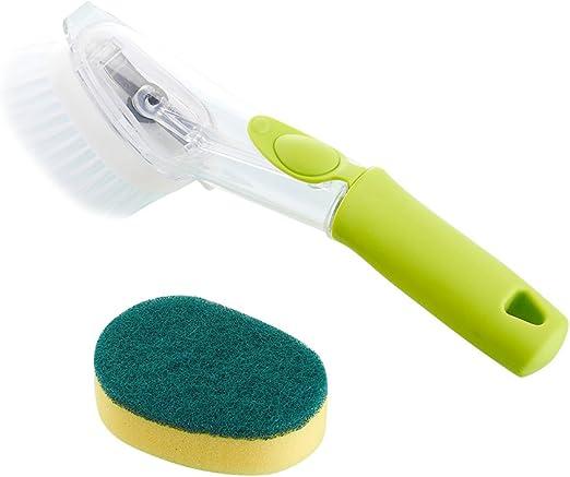 Smartrich 1 Cepillo de Limpieza para Cocina con dispensador de ...