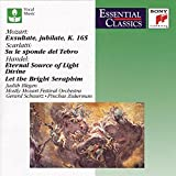 Mozart: Exsultate, Jubilate, K. 165 / Scarlatti: Su le Sponde del Tebro / Handel: Eternal Source of Light Divine