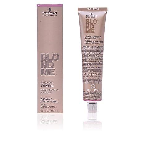 Schwarzkopf Professional Blondme Blonde Toning Tono Ice Tratamiento Capilar - 60 ml
