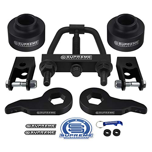 Supreme Suspensions - Full Lift Kit for Chevrolet Suburban & Avalanche and GMC Yukon Adj. 1-3