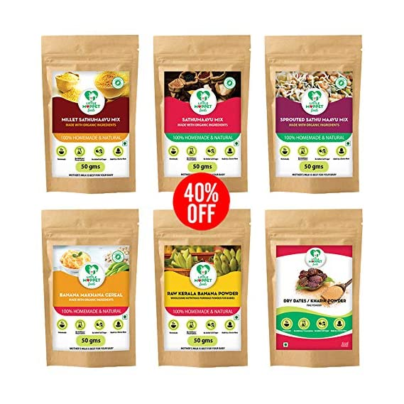 Little Moppet Foods Super Saver Trial Combo - Pack of 6